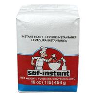 Lesaffre SAF-Instant Red Dry Yeast 1 lb. Vacuum Pack   - 20/Case