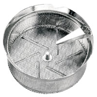 Tellier P10015 1/16 inch Perforated Replacement Sieve for 15 qt. Food Mill on Stand - Tinned Steel