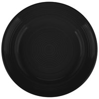Tuxton CBA-074 Concentrix 7 1/2 inch Black China Plate   - 24/Case