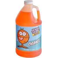 Jolly Rancher 1/2 Gallon Orange Slushy 5:1 Concentrate - 6/Case
