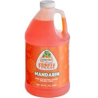 Jarritos 1/2 Gallon Mandarin Slushy 5:1 Concentrate - 6/Case