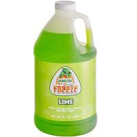 Jarritos 1/2 Gallon Lime Slushy 5:1 Concentrate - 6/Case
