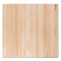 Bally Block 24 inch x 24 inch x 1 3/4 inch Maple Wood Cutting Board