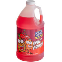 Jolly Rancher 1/2 Gallon Fruit Punch Slushy 5:1 Concentrate - 6/Case