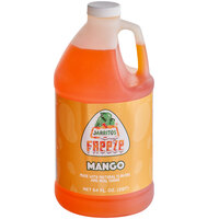 Jarritos 1/2 Gallon Mango Slushy 5:1 Concentrate - 6/Case