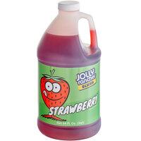 Jolly Rancher 1/2 Gallon Strawberry Slushy 5:1 Concentrate - 6/Case