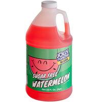 Jolly Rancher 1/2 Gallon Sugar Free Watermelon Slushy 5:1 Concentrate - 6/Case