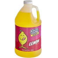 Jolly Rancher 1/2 Gallon Lemon Slushy 5:1 Concentrate - 6/Case