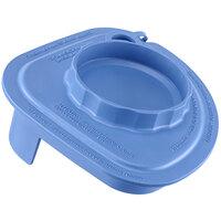 Vitamix 58996 Blue Two-Piece Splash Lid with Tethered Plug for Advance Jars
