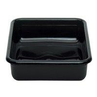 Cambro 1722CBP110 Cambox 22 inch x 17 inch x 5 inch Black Polyethylene Plastic Bus Box