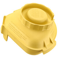 Vitamix 58993 Yellow One-Piece Solid Lid for Advance Jars