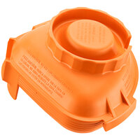 Vitamix 58994 Orange One-Piece Solid Lid for Advance Jars