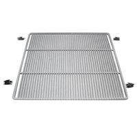 True 959233 Chrome Wire Shelf with 5 inch Standoff - 22 7/8 inch x 23 1/4 inch