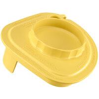 Vitamix 58997 Yellow Two-Piece Splash Lid with Tethered Plug for Advance Jars