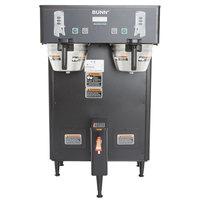 Bunn 34600.0003 BrewWISE Black Dual ThermoFresh DBC Brewer - 120/240V