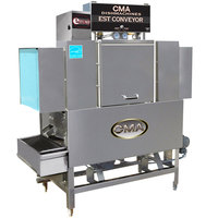 CMA Dishmachines EST-44 High Temperature Conveyor Dishwasher - Right to Left, 240V, 3 Phase