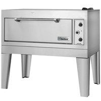 Garland E2155 55 1/2 inch Triple Deck Roast / Bake Oven (2 Roast, 1 Bake) - 240V, 1 Phase, 18.6 kW