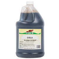 Fox's 1 Gallon Cola Slush Syrup   - 4/Case