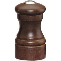 Chef Specialties 04155 Professional Series Customizable Capstan Walnut Salt Shaker - 4 inch