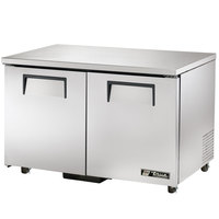 True TUC-48F-ADA 48 inch ADA Height Undercounter Freezer - 12 Cu. Ft.