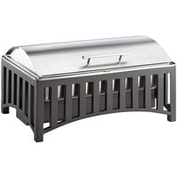 Cal-Mil 1368-13 Mission 9 Qt. Lift Top Chafer