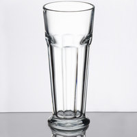 Libbey 15673 Gibraltar 16.75 oz. Footed Pilsner Glass - 12/Case