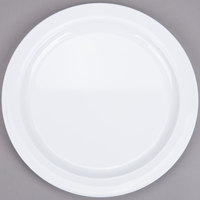 Thunder Group NS109W 9 inch Narrow Rim Thunder Group Nustone Melamine Plate - White - 12/Pack
