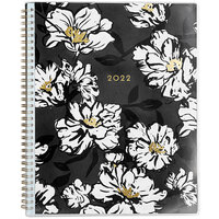 Blue Sky 110211 Baccara 8 1/2 inch x 11 inch July 2021 - December 2022 Weekly / Monthly Planner