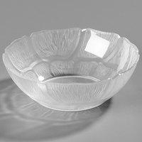 Carlisle 6904-807 Petal Mist 18 oz. Clear Polycarbonate Bowl - 4/Pack