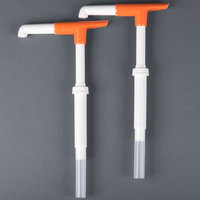San Jamar P7400 1 oz. Thick Condiment Dispenser Mega Pelican Pump   - 2/Pack