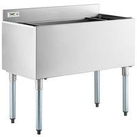 Regency 18 inch x 36 inch Underbar Ice Bin - 119 lb.