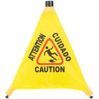 20 inch Pop-Up Safety Cone Wet Floor Sign