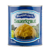 SilverFleece Shredded Sauerkraut #10 Can