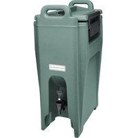 Cambro UC500401 Ultra Camtainers® 5.25 Gallon Slate Blue Insulated Beverage Dispenser