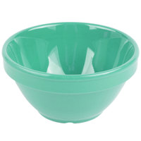 GET BC-170-FG Diamond Mardi Gras 8 oz. Rainforest Green Melamine Bowl - 48/Case