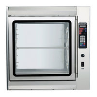 Hobart KA7EM-2 Electric Pass-Through Rotisserie Oven with Glass Back