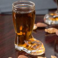Stolzle 09735/188047 Biersiefel 1 oz. Beer Boot / Shot Glass - 12/Case