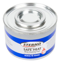 Sterno 10114 4 Hour Heat-It Chafing Dish Fuel with Power Pad - 24/Case