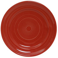 Tuxton CQA-062 Concentrix 6 1/4 inch Cayenne Plate - 24/Case