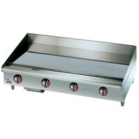 Star Max 548TGF 48 inch Countertop Electric Griddle with Snap Action Thermostatic Controls - 16,000 Watts