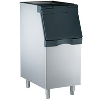Scotsman B322S Ice Storage Bin 370 lb. Stainless Steel Exterior