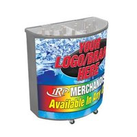 Gray Billboard 600 94 qt. Portable Beverage Tub