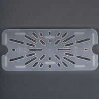 Cambro 30PPD 1/3 Size Translucent Polypropylene Drain Tray