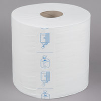 Merfin 8400 1-Ply Center Pull Airlaid Paper Towel 400' Roll - 6/Case