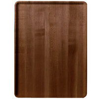 Cambro 1216D309 12 inch x 16 inch Java Teak Wood-Look Dietary Tray - 12/Case