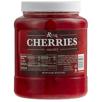 Regal Maraschino Cherry Halves 1/2 Gallon Jar - 6/Case