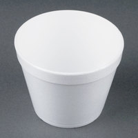 Dart Solo 24MJ48 24 oz. Customizable White Foam Bowl - 500/Case