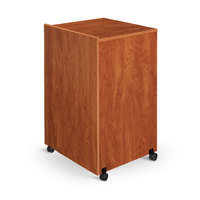 Oklahoma Sound 112CH Lectern Base - Wild Cherry Finish