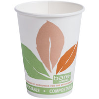 Dart Solo 412PLN-J7234 Bare Eco-Forward 12 oz. Paper Hot Cup - 1000 / Case