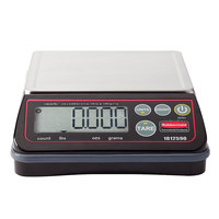 Rubbermaid 1812590 Pelouze 2 lb. High Performance Digital Portion Control Scale